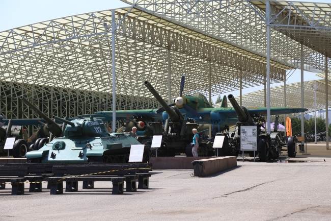 Оружие Победы. Первые столичные музеи открылись для посетителей