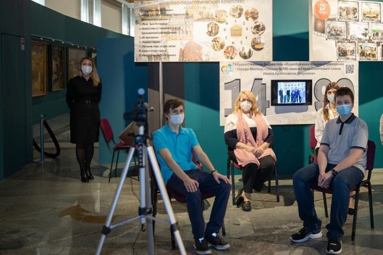 В 2020 году восемь московских школ продемонстрировали свои выставки в Музее Победы