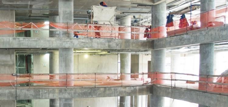 На Боровском шоссе ликвидируют гараж-долгострой