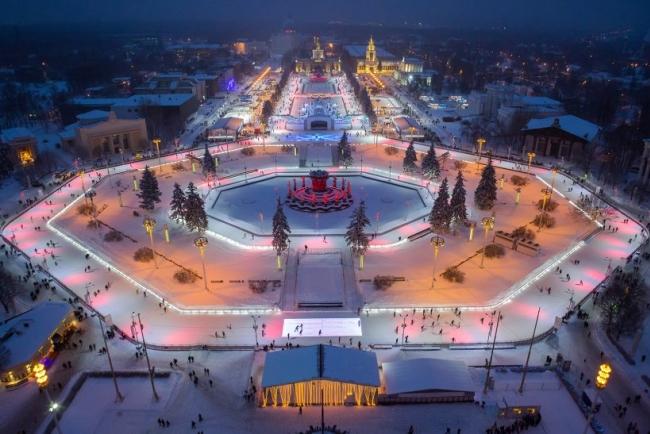 ВДНХ приглашает москвичей и гостей столицы встретить Новый год вместе