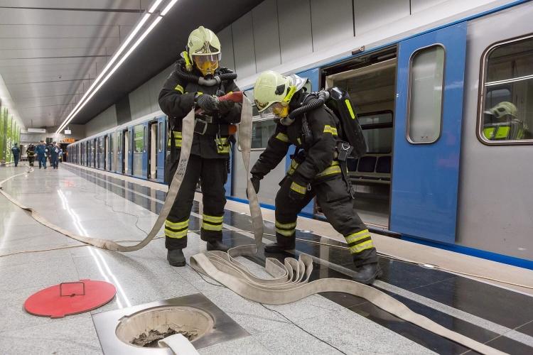 Правила поведения при возникновении ЧП в метро