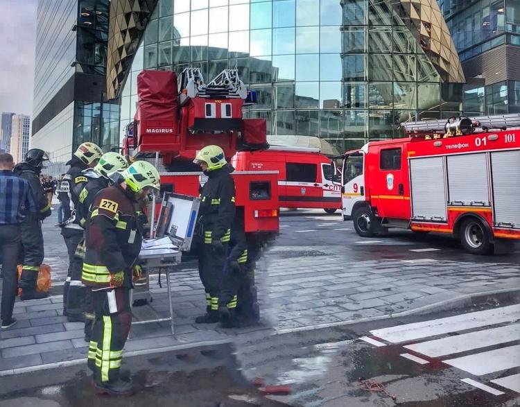 Ликвидирован пожар в районе Дорогомилово