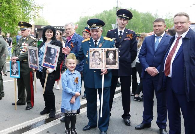 Торжественные мероприятия, посвященные Дню Победы, прошли в районе Солнцево