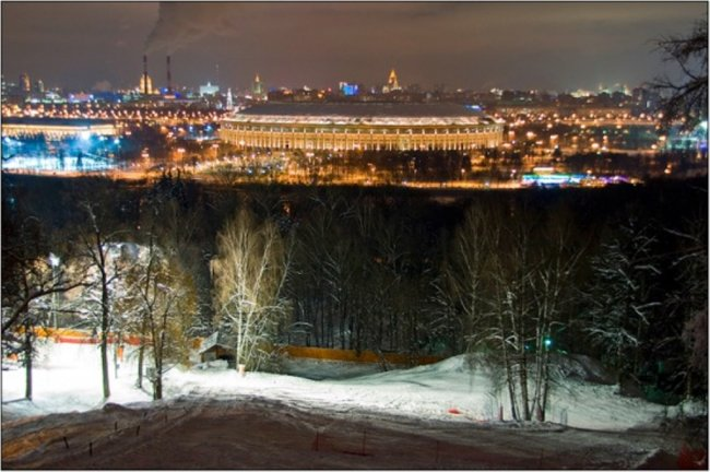 Место для свиданий в москве