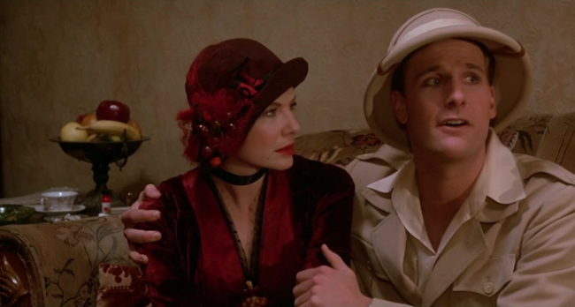 the parody of moral statements in woody allens purple rose of cairo