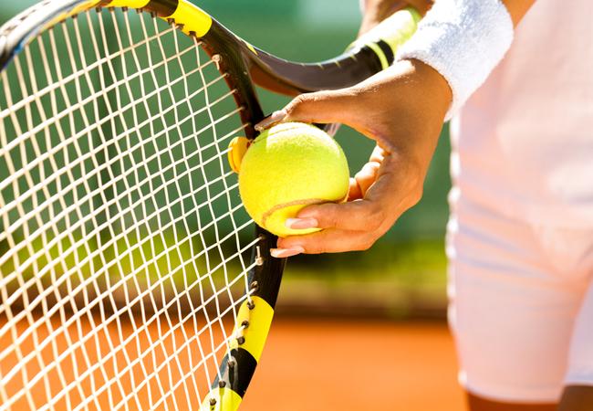 О большом теннисе
