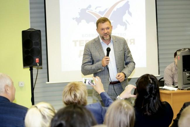 Дмитрий Саблин выступил перед студентами КЭСИ
