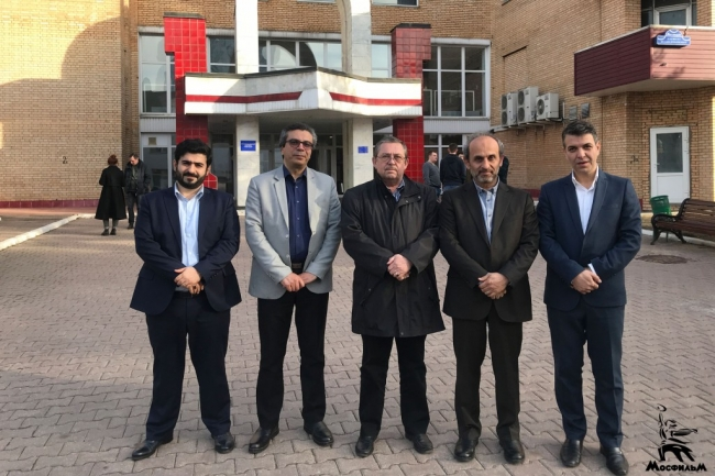 Гости из Ирана посетили «Мосфильм»