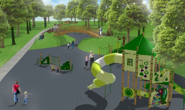Парк в районе Ново-Переделкино преобразится