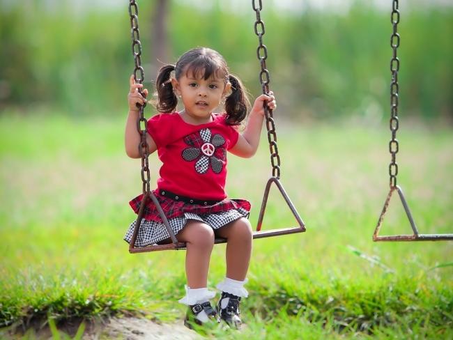 В центре внимания – детские площадки