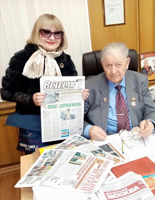 Взаимодействие со СМИ - важное направление в работе Московского комитета ветеранов войны