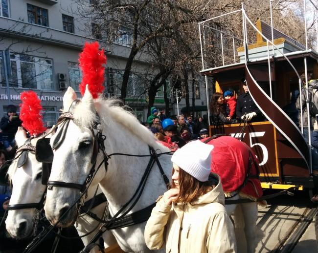 118-летие столичного трамвая отпраздновали в российской столице