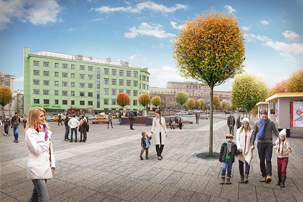В2015 году попрограмме «Моя улица» закончится благоустройство Садового кольца