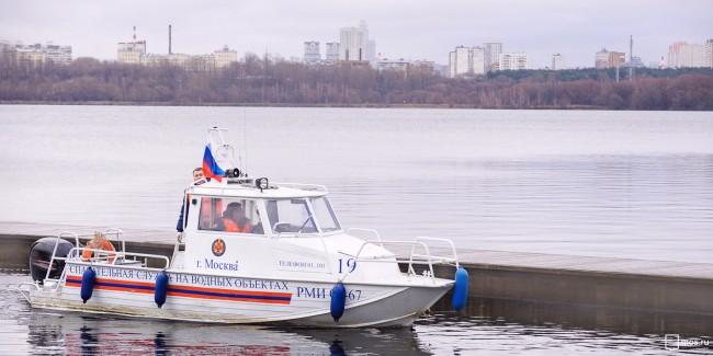 Спасательные баркаса  в столице  оборудовали видеорегистраторами