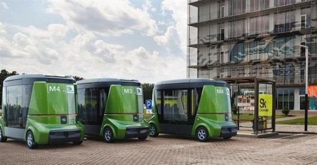 В столице начнут работать беспилотные автобусы «MatrEshka»