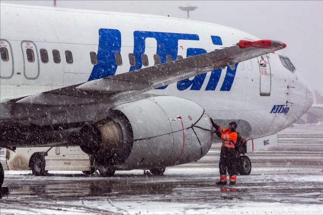 Непогода неповлияла наработу столичных аэропортов