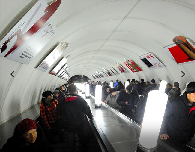 Третьяковка запустила в метро образовательный проект