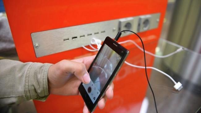 Вокзалы городов-участников ЧМ-2018 оборудуют зарядными станциями для девайсов